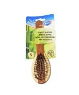 Duvo+ Hari Bamboo karva hooldamiseks, nylonharjastega, väike