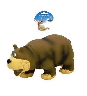 Duvo+ Koeralelu Häälitsev karu 17,5 cm, pruun