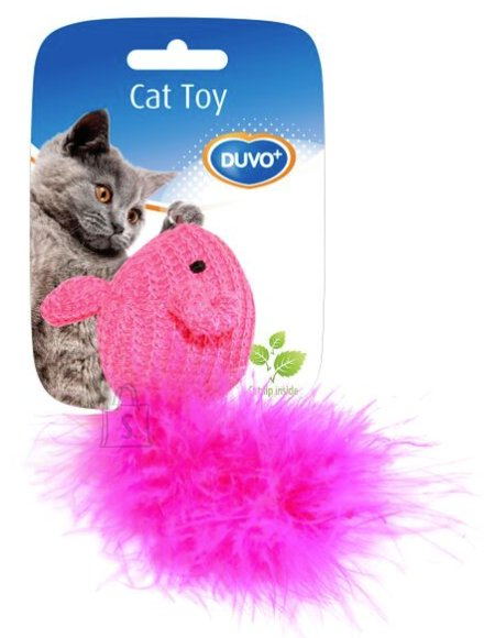 Duvo+ Kassilelu Karvane hiir, sinine/roosa