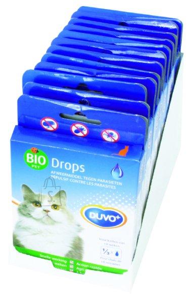Duvo+ Puugi/kirbu vastased pipetid kassidele 5tk