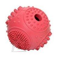 Duvo+ Koeralelu hambaravi pall D6 cm, punane/roheline