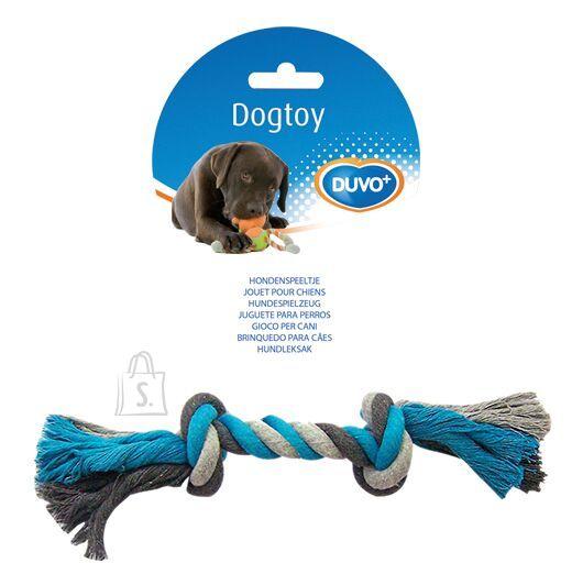 Duvo+ koera nöörlelu sõlmedega 26 cm, sinine/hall