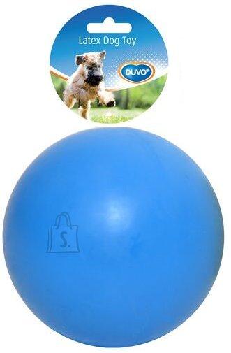 Duvo+ Koeralelu pall 7,5 cm sinine/kollane