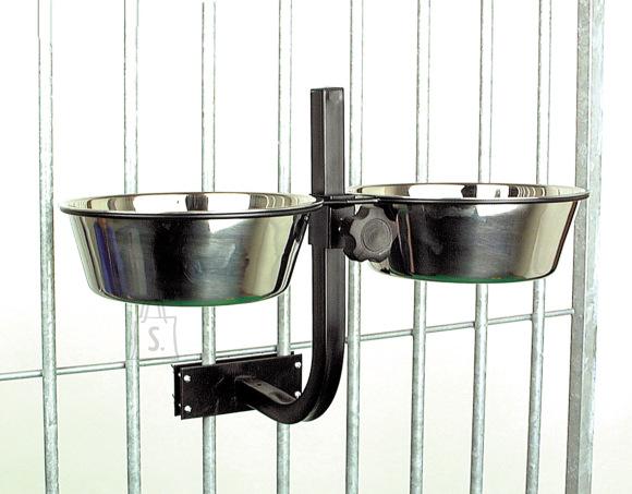 Duvo+ koeraaediku sööginõude reguleeritav hoidja, läbimõõt 24 cm