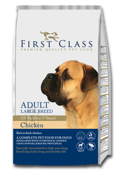 First Class Koeratoit Adult Large Breed Chicken