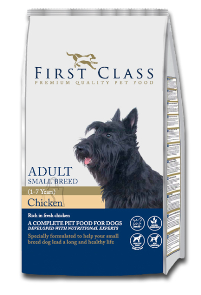 First Class Koeratoit Adult Small Breed Chicken 2kg