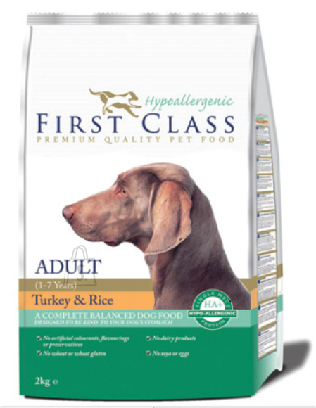 First Class Hypoallergenic Koeratoit Hypoallergenic - Adult Turkey & Rice