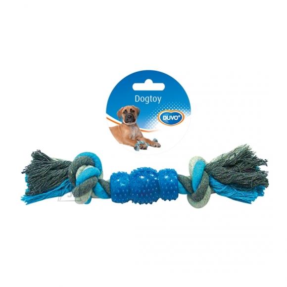 Duvo+ Nöörlelu 2 sõlme ja ogaline kumm 28 cm, sinine/hall