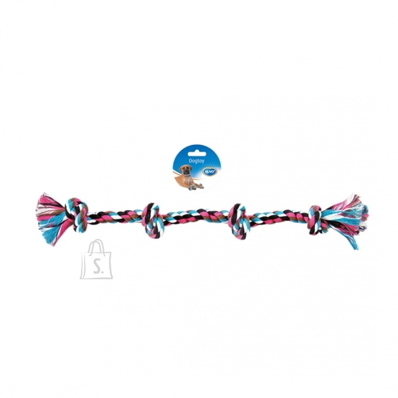 Duvo+ nöörlelu 4 sõlmega, 55 cm, värviline