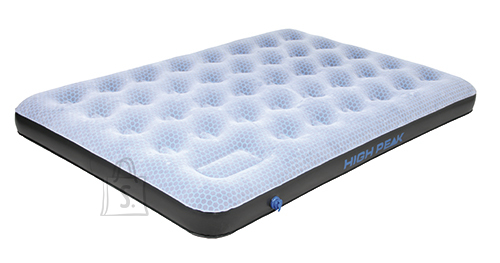 High Peak õhkvoodi Double Comfort Plus, hall/sinine/must
