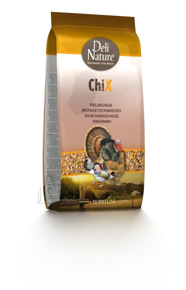 Deli Nature Deli Nature kanatoit Chix Mix With Broken Maize 4kg