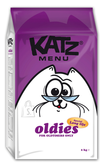 Katz Menu kassitoit OLDIES 2kg