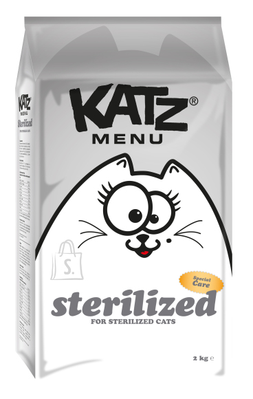 Katz Menu kassitoit STERILIZED 2kg