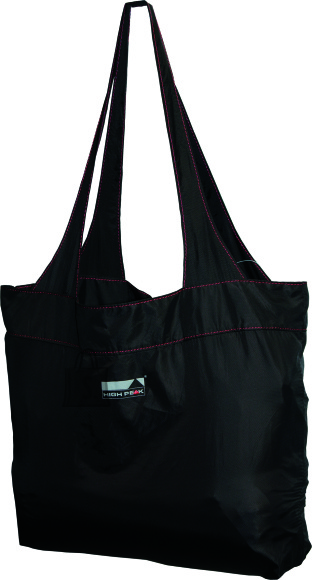 High Peak ostukott Electra Shopping Bag 12L, must