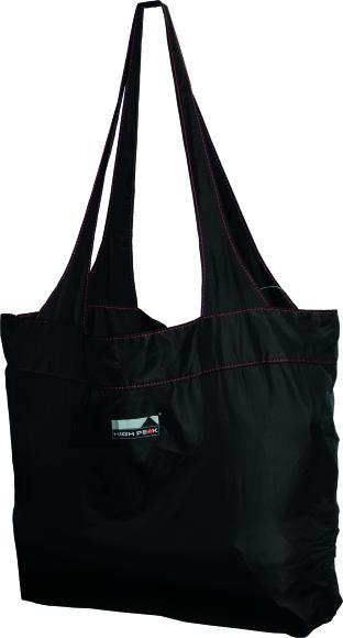 High Peak ostukott Electra Shopping Bag 12L, must