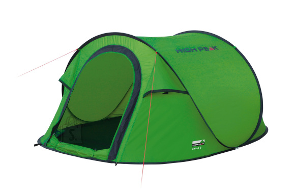 High Peak PopUp telk Vision 3, roheline
