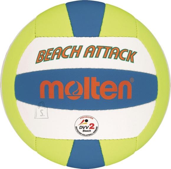 Molten Molten rannavõrkpall MBVBA, sünt. nahk, valge/sinine/kollane