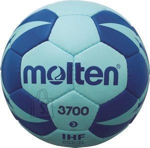 Molten Molten käsipall H3X3700-CB, sünt. nahk, sinine/h.sinine