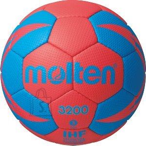 Molten Molten käsipall H3X3200-RB2, sünt. nahk, punane/sinine