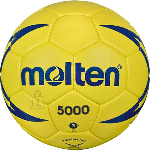 Molten Molten käsipall H3X5001-X, sünt. nahk, kollane/sinine