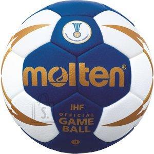 Molten Molten käsipall H3X5001-BW, sünt. nahk, sinine /valge