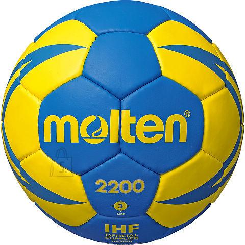 Molten Molten käsipall H3X2200-BY sünt. nahk, sinine/kollane