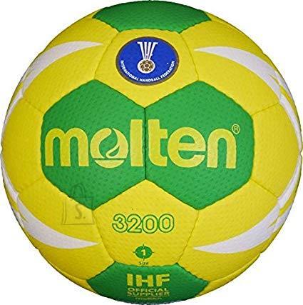 Molten Molten käsipall H1X3200-YG sünt. nahk, kollane/roheline