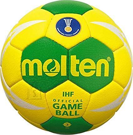Molten Molten käsipall H2X5001-YG sünt. nahk, kollane/roheline/valge