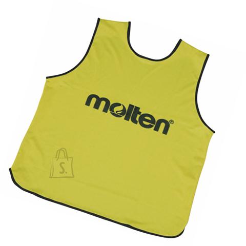 Molten Molten treeningvest GVR2-XL, roheline/kollane