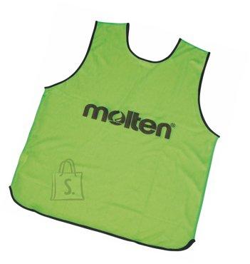 Molten Molten treeningvest GVR2-S, roheline/kollane