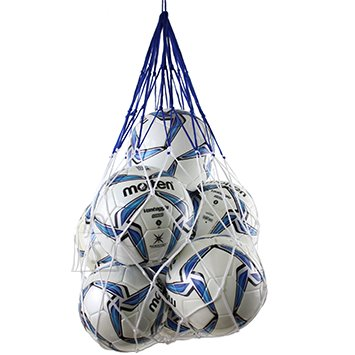 Molten Molten pallivõrk 12 pallile, sinine/valge