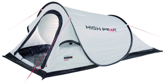High Peak PopUp telk Campo, helehall