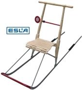ESLA ESLA T7/XL puidust istmega tõukekelk