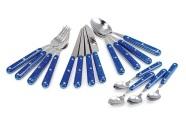 GSI Outdoors Pioneer Cutlery 16-osaline söögiriistade komplekt