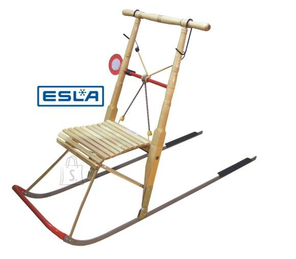 ESLA ESLA P6/kalamehe puidust tõukekelk