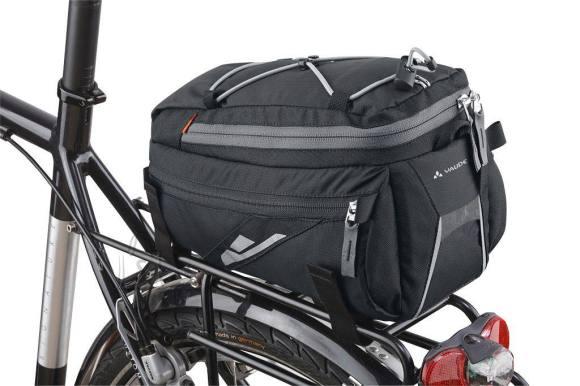 Vaude Silkroad M Black jalgrattakott tagumisele pakiraamile