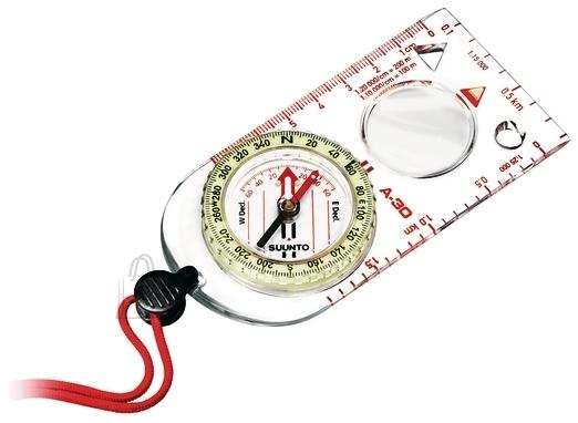Suunto suurendusklaasiga helenduv kompass