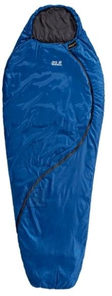Jack Wolfskin Smoozip +3 sinine kookon-tüüpi magamiskott -11/+3/+7/+24°C 1.16kg