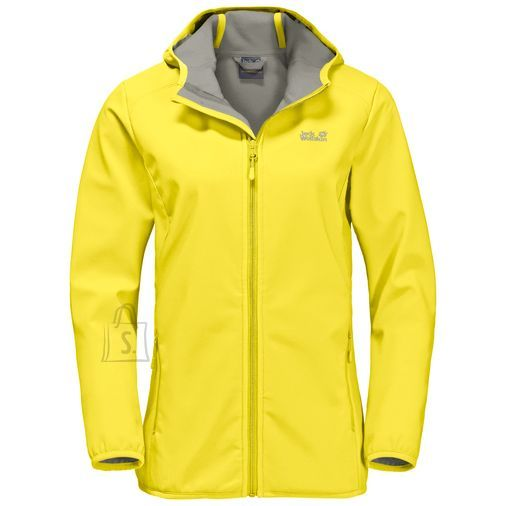 Jack Wolfskin Northern Point Buttercup naiste softshell