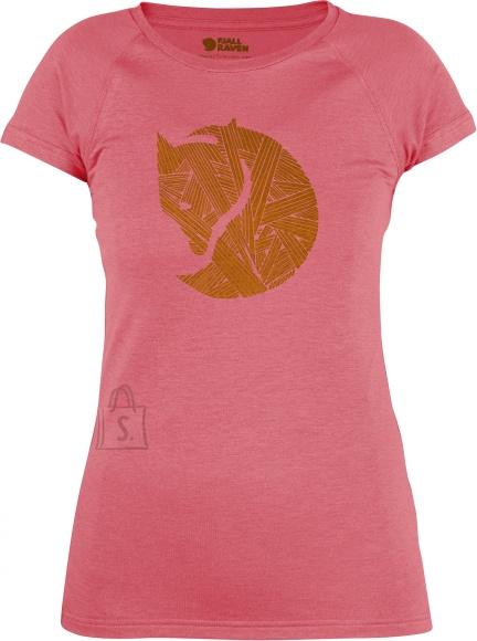 Fjällräven Abisko Trail Peach Pink naiste T-särk