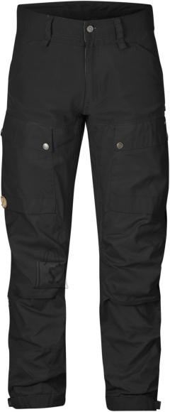 Fjällräven Keb Long Black/Black meeste püksid
