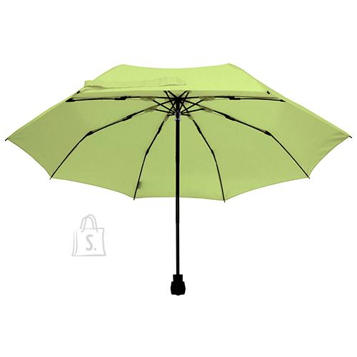 Light Trek roheline taskulambiga vihmavari