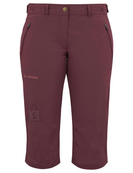 Vaude Farley Str.Capri II Prunell naiste püksid