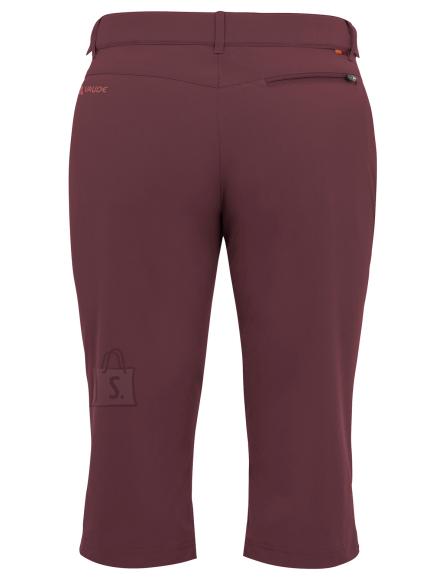 e747a375abd Vaude Farley Str.Capri II Prunell naiste püksid