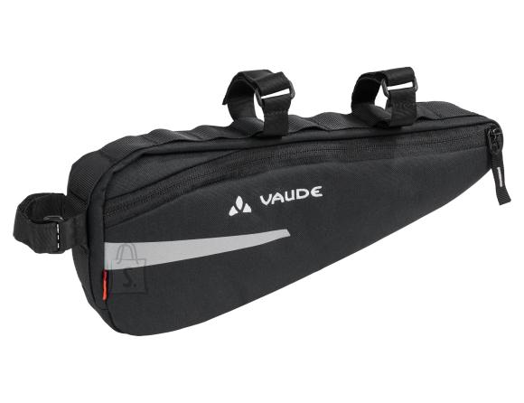 Vaude Cruiser must jalgrattakott raamile