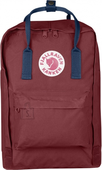 "Fjällräven Kanken Laptop 15"" Ox Red/Royal Blue sülearvutikott"