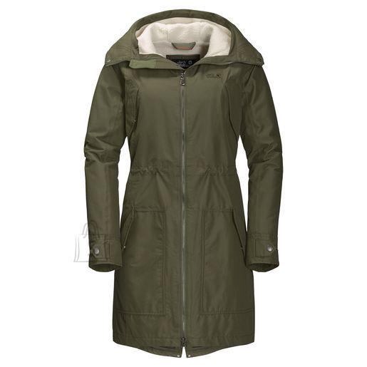 Jack Wolfskin Wo Rocky Point woodl.green naiste parka