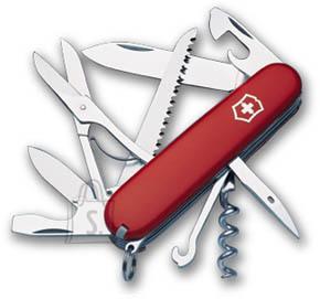 Victorinox Huntsman punane taskunuga - HUNTSMAN