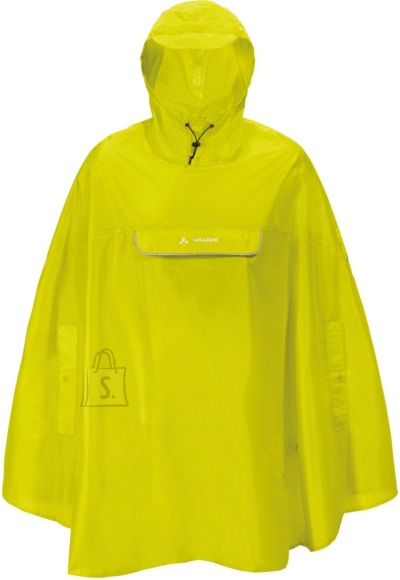 Vaude Valdipino Poncho kollane vihmakeep