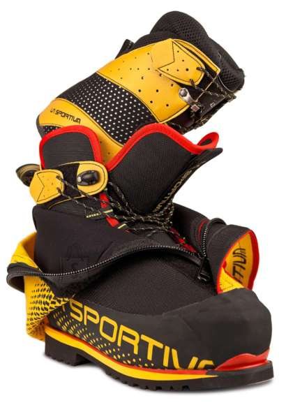La Sportiva Olympus Mons Evo Black/yellow mägisaapad